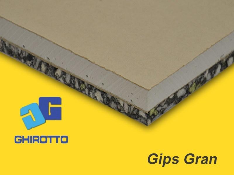 Sound insulation panel GIPS GRAN by GHIROTTO