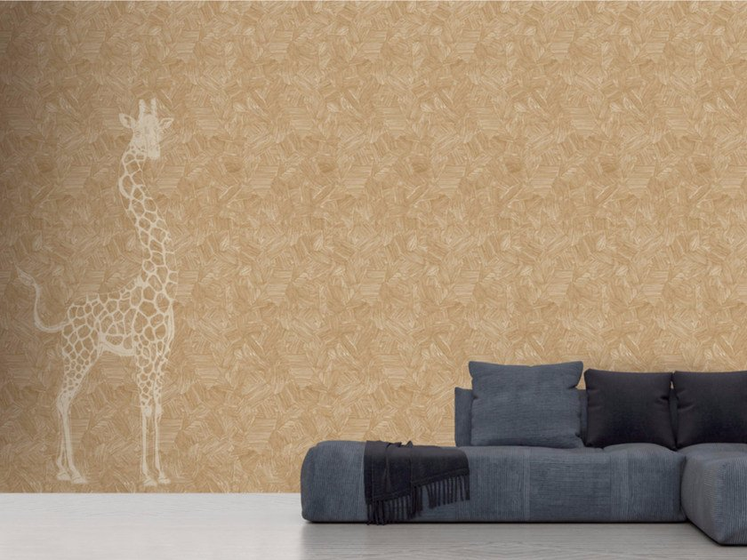 Washable vinyl wallpaper GIRAFFE by GLAMORA