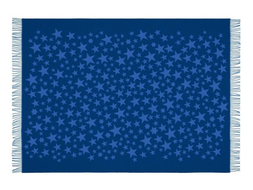 Jacquard merino wool blanket GIRARD WOOL STARS by Vitra