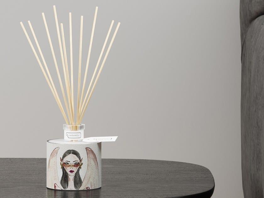 Natural stone Air freshener dispenser GIRLS Prestige - Melograno by IWISHYOU