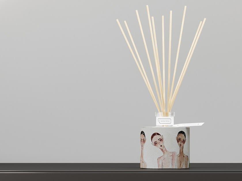 Natural stone Air freshener dispenser GIRLS Prestige - Tabacco e Agrumi by IWISHYOU