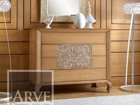 Solid wood chest of drawers GIULIETTA E ROMEO | Chest of drawers by Arvestyle