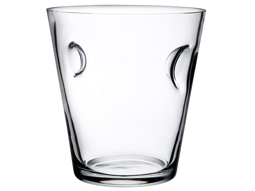 Crystal ice bucket GLACIER WINE by NUDE