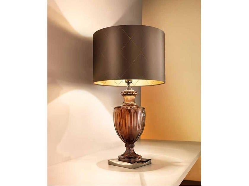 Crystal table lamp GLAM LG1 by Euroluce Lampadari