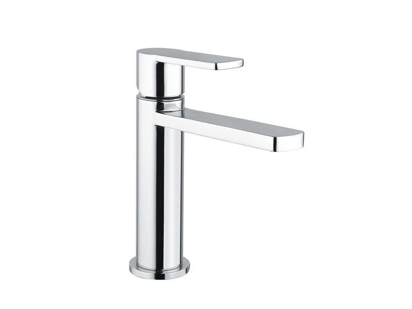 Single handle washbasin mixer without waste GLAM | Washbasin mixer without waste by Armando Vicario