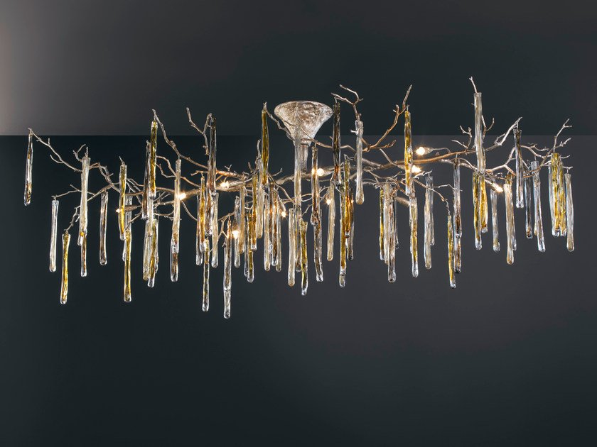 Halogen ceiling lamp GLAMOUR | Ceiling lamp by Serip