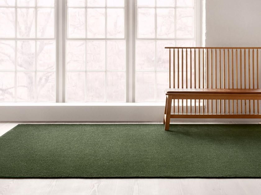 Woven Chenille rug in pure wool GLÄNTA by Kasthall