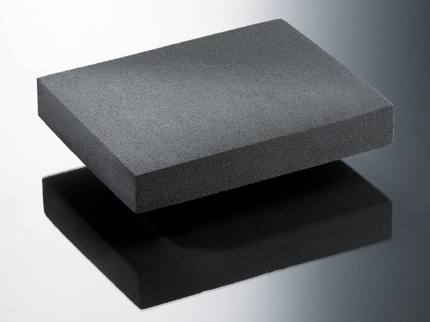 Cellular glass Natural insulating felt and panel for sustainable building GLAPOR by Bacchi