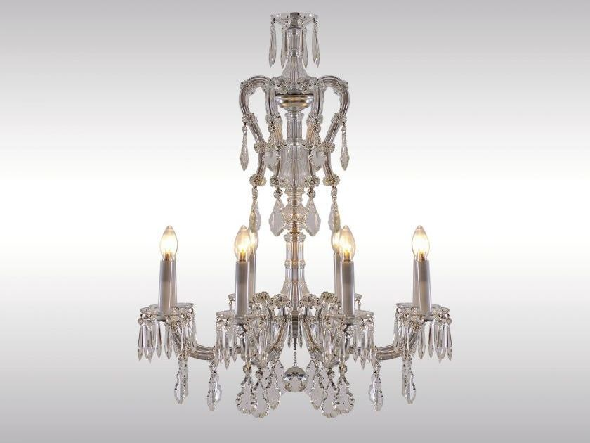 Classic style crystal chandelier GLASLUSTER by Woka Lamps Vienna