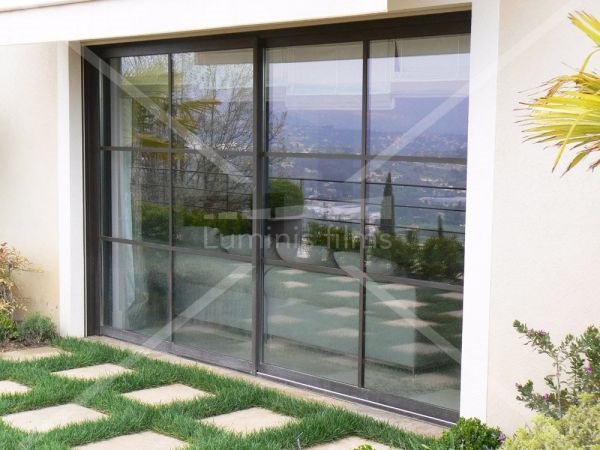 Adhesive solar control window film GLASS-202x by Luminis Films