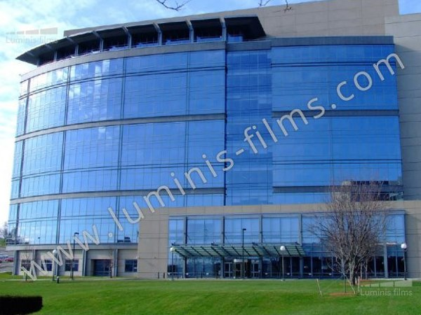 Adhesive solar control window film GLASS-206x by Luminis Films