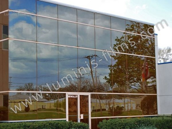 Adhesive solar control window film GLASS-208x by Luminis Films