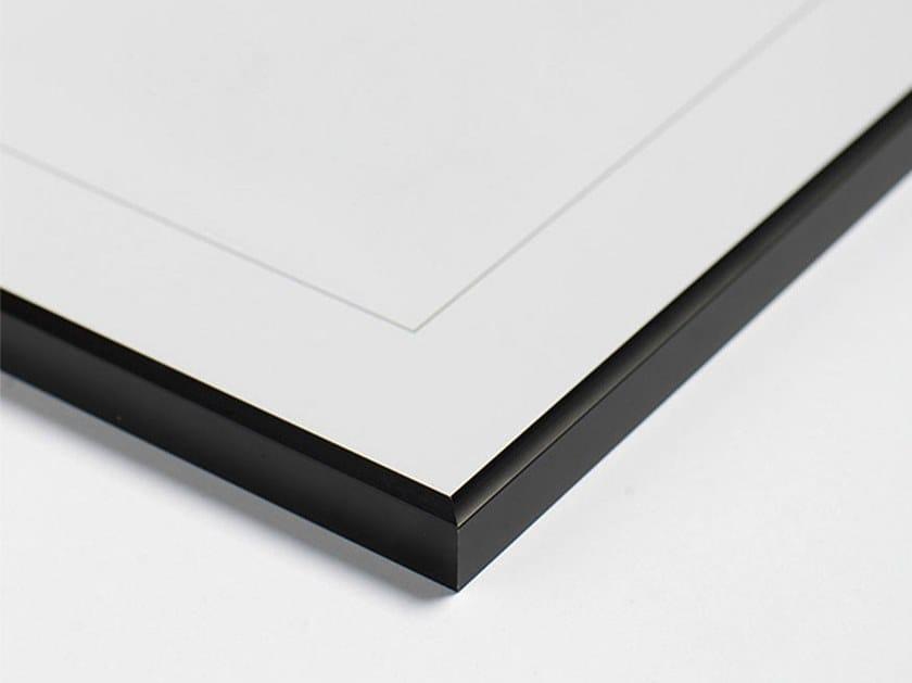Black aluminium frame BLACK FRAME by Paradisco Productions