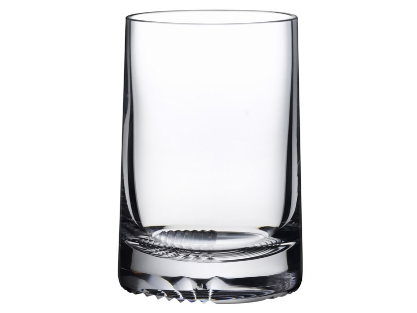 Set of 2 High Ball DOF Glasses ALBA | Crystal glass by NUDE
