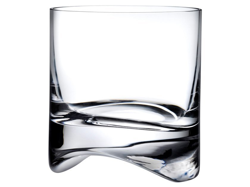Set of 2 Whisky Glasses ARCH   Glass by NUDE