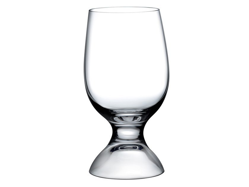 Set of 2 Water Glasses RED OR WHITE | Glass by NUDE