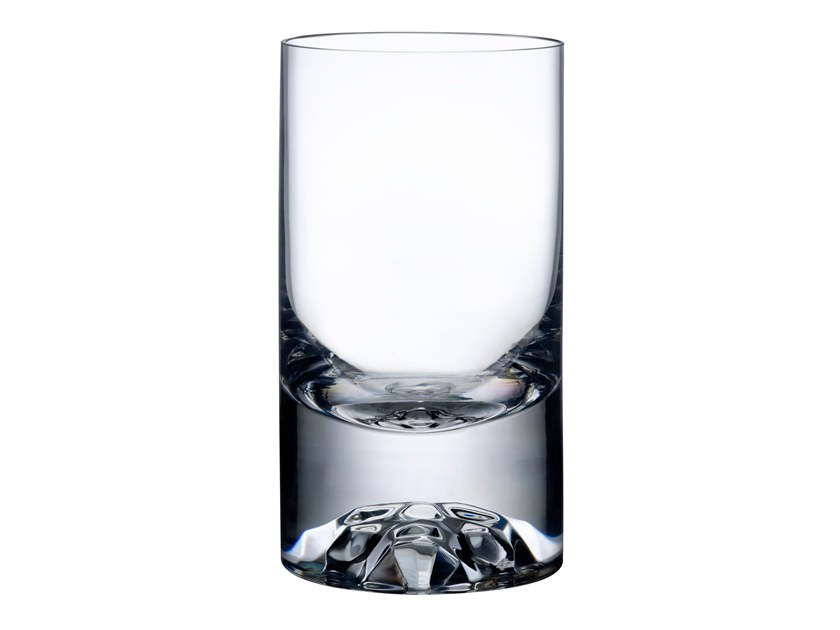 Set of 4 Low Ball Glasses SHADE | Glass by NUDE