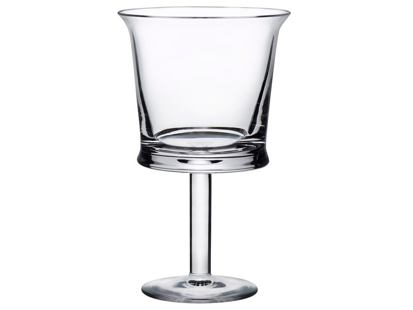 Set of 2 White Wine Glasses JOUR | Glass by NUDE