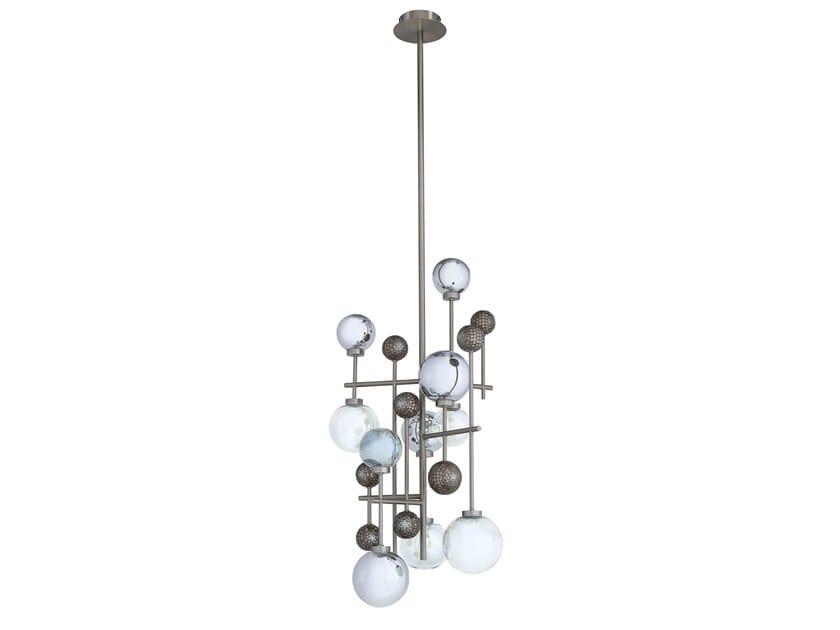 Pendant lamp FLUXUS | Glass pendant lamp by Sicis