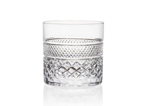Tumbler crystal glass CHARLES IV TUMBLER   Crystal glass by Rückl