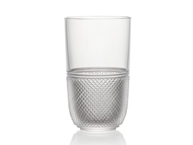 Water crystal glass ELIZABETH | Water glass by Rückl