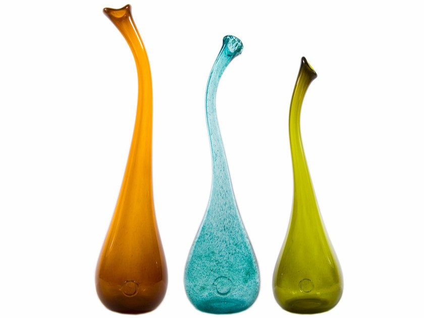 Stained glass vase AGL0140-0144 / 0150-0154 / 0160-0164 | Vase by Gie El Home