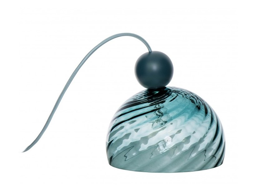 Blown glass table lamp GLASSIK by Flam & Luce