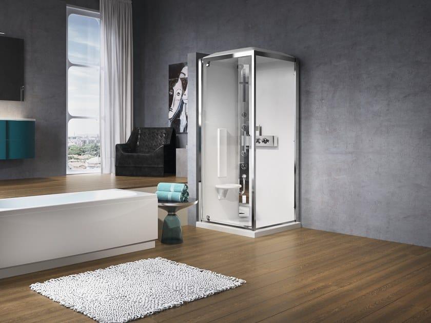 Hydromassage shower cabin GLAX G80 by NOVELLINI