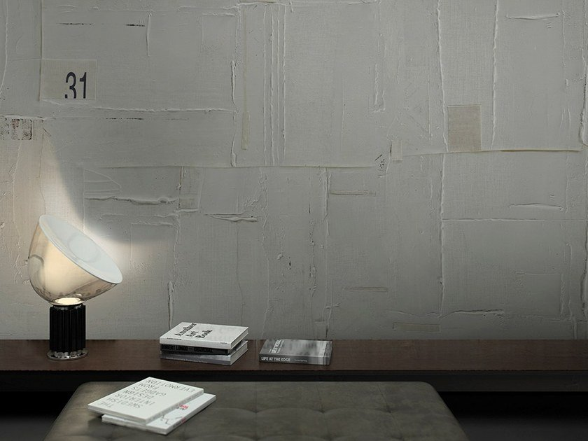 Carta Da Parati Su Muro Ruvido.Carta Da Parati Effetto Muro Glaze Collezione Touch By Glamora