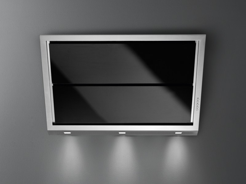 Wall-mounted stainless steel cooker hood GLEAM by Falmec