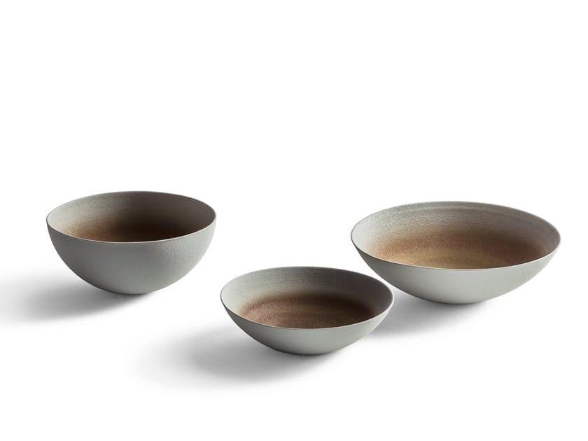 Ceramic serving bowl GLI OGGETTI - CRETTO by Poltrona Frau