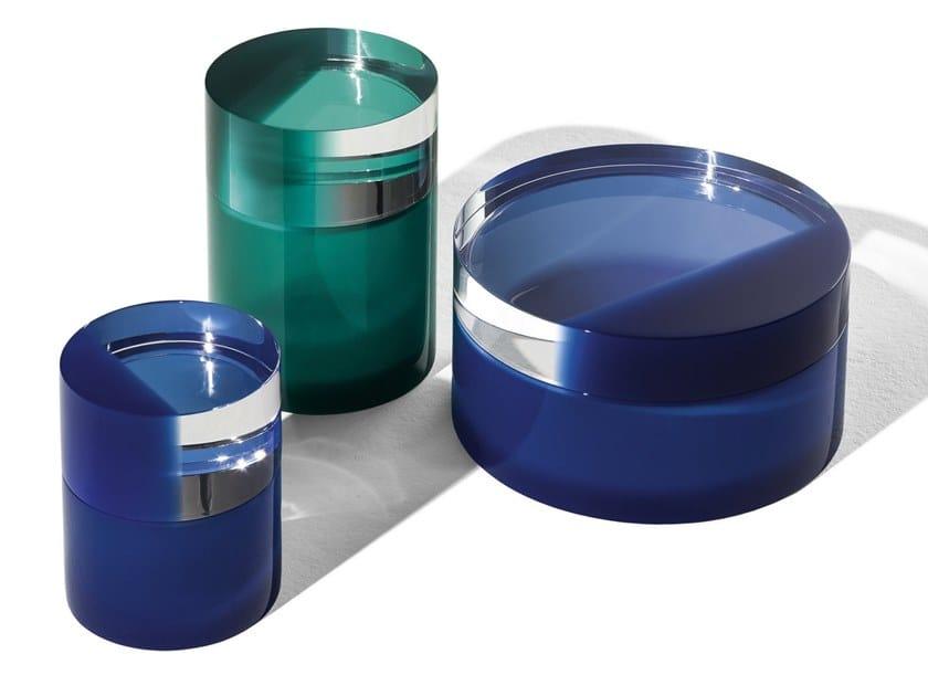 Methacrylate storage box GLI OGGETTI - PLEXI CASE by Poltrona Frau
