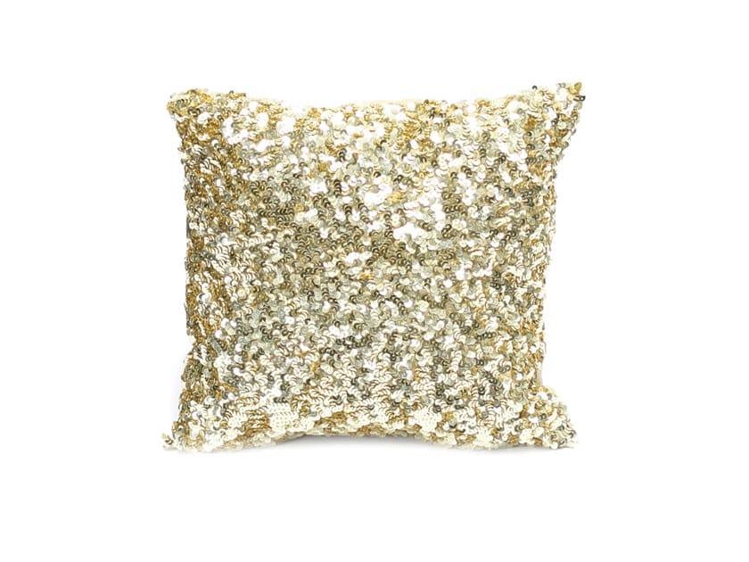 Square cotton cushion GLITTER by Bazar Bizar