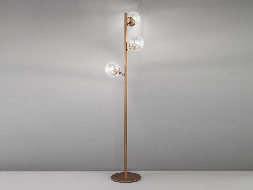 Metal floor lamp GLOBAL H 170 by Metal Lux