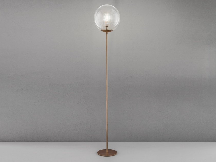 Metal floor lamp GLOBAL H 170 – Ø 30 by Metal Lux