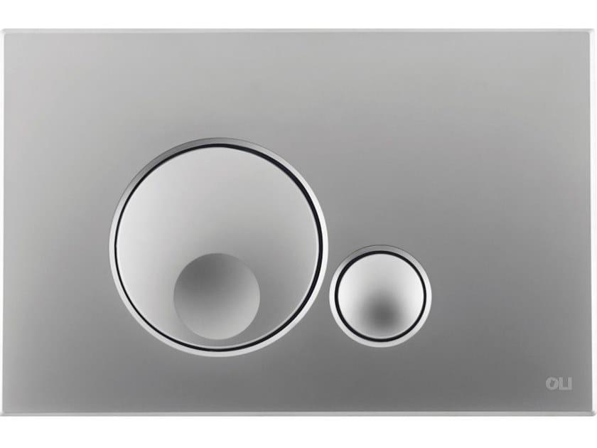 ABS flush plate GLOBE by OLI