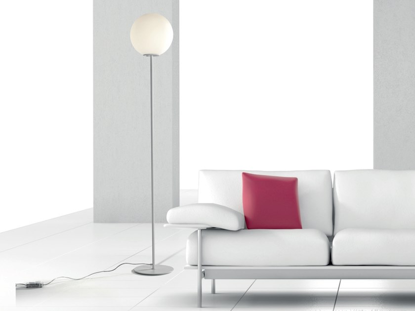 LED blown glass floor lamp GLOBÌ | Floor lamp by Cattaneo