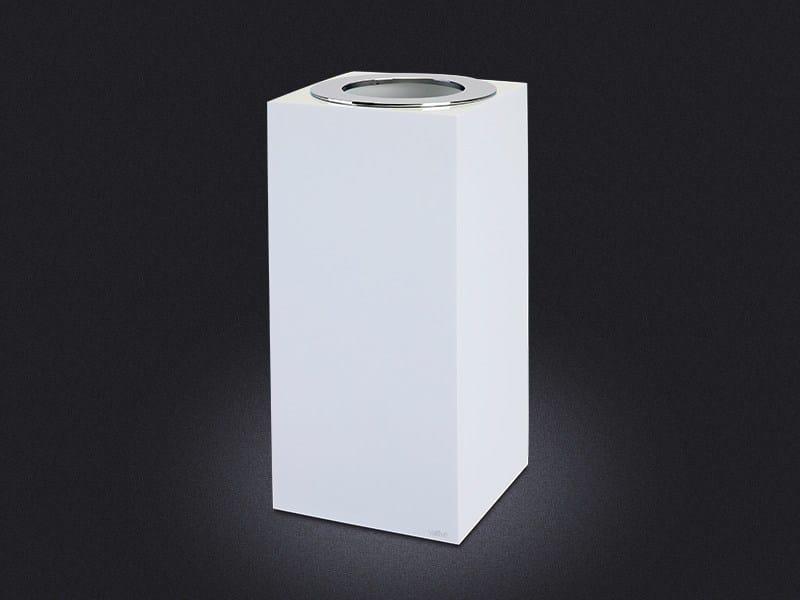 Resin bathroom waste bin GLOSS SMALL | Resin bathroom waste bin by Vallvé