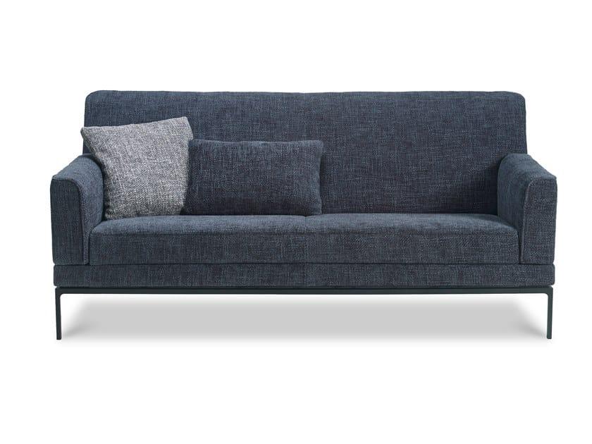 Upholstered fabric sofa GLOVE PURE by JORI