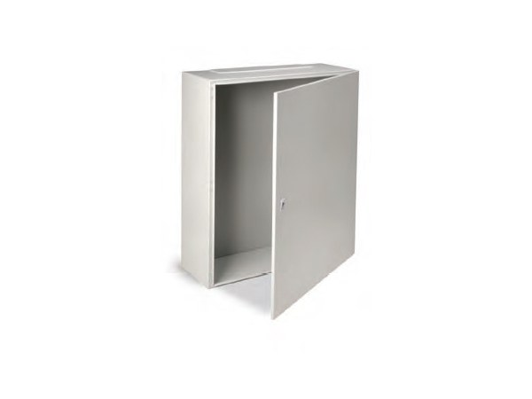 Metal enclosure cabinet ENCL IP65 1000X800X300 C/W BASE PLAT by Garo