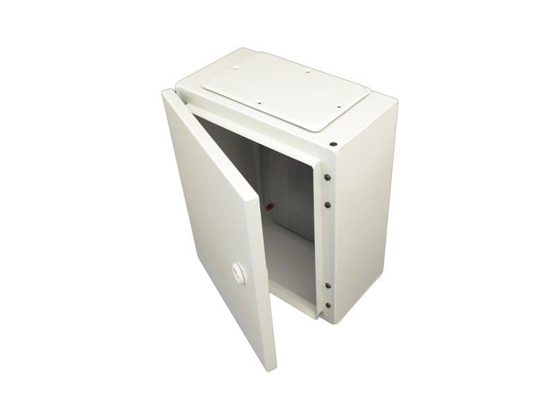 Metal enclosure cabinet ENCL IP65 300X250X150 C/W BASE PLAT by Garo