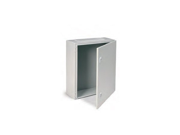 Metal enclosure cabinet ENCL IP65 600X600X250 C/W BASE PLAT by Garo