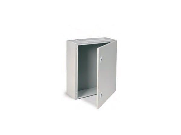 Metal enclosure cabinet ENCL IP65 800X600X200 C/W BASE PLAT by Garo