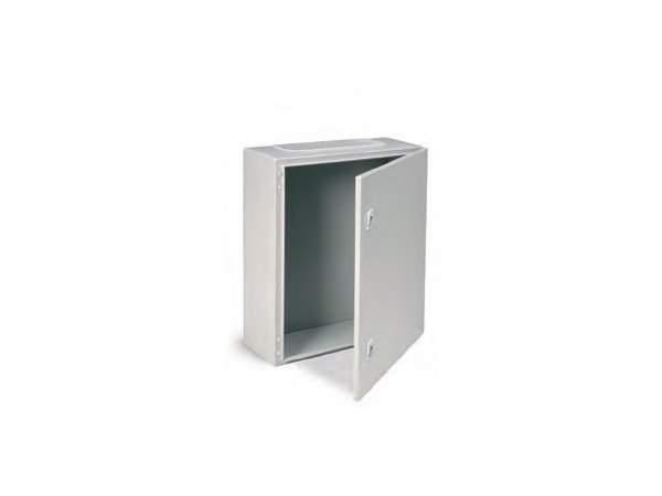 Metal enclosure cabinet ENCL IP65 800X600X250 C/W BASE PLAT by Garo