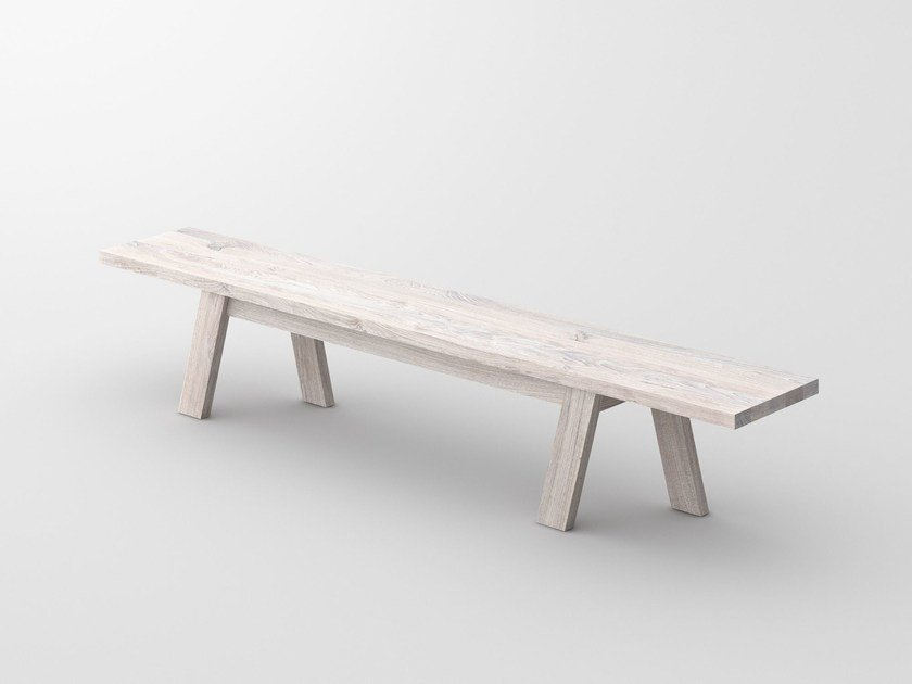 Solid wood bench GO | Bench by Vitamin Design