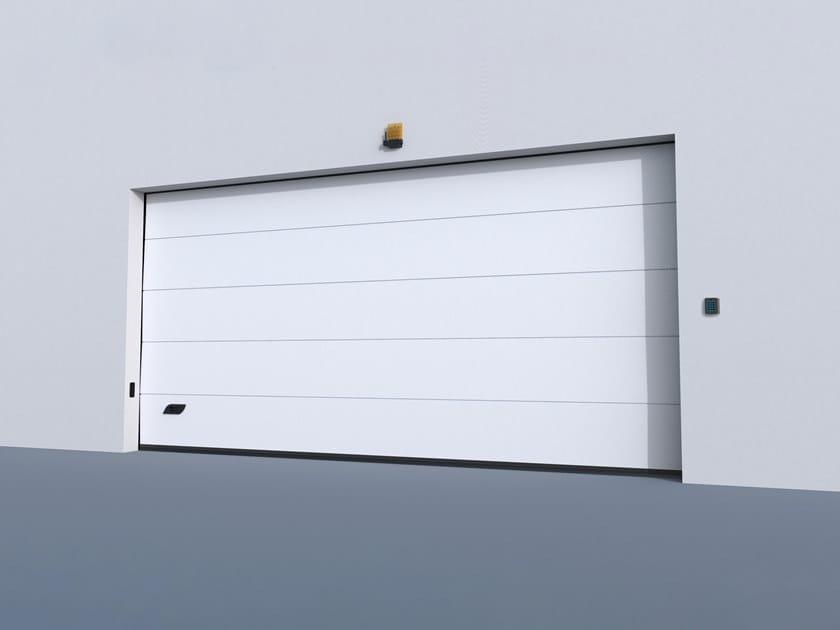 Sectional garage door GO PREMIUM by CAME