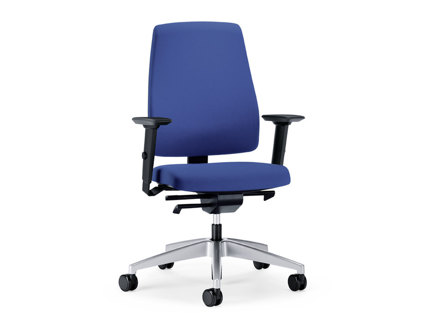 Ergonomic swivel fabric task chair GOAL 152G by Interstuhl
