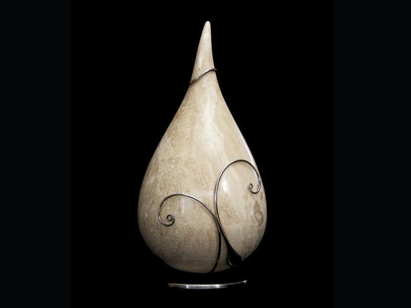 Orosei marble sculpture DROPS by Renato Bugiotti