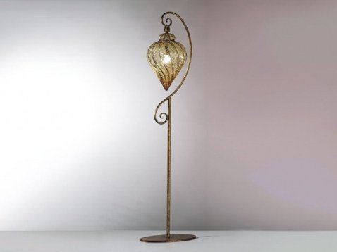 Murano glass floor lamp GOCCIA MP 111 by Siru