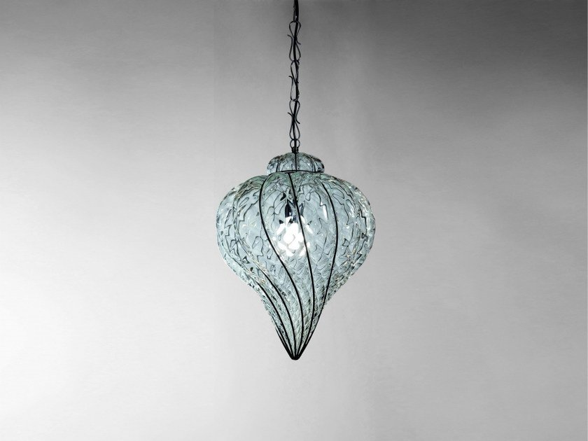 Murano Gl Pendant Lamp Goccia Ms Es
